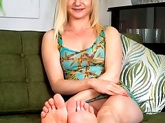 Petite Chloe has some sexy foot action going on!