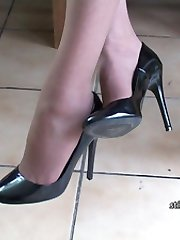 Is your shoe fetish your best kept secret? Does it make you go all hard and creamy whenever you see a lovely lady like Dr Holly clacking in a good high pair of stiletto shoes
