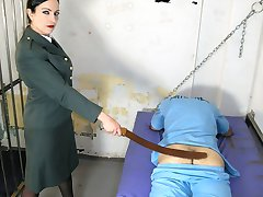 Prison Caning Bench