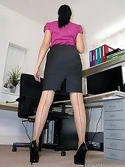 The Boss's Stockings