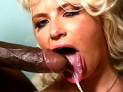 Annika Albrite Black Cock Slut at Blacks On Blondes!