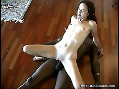 Joli GangFucked By Big Black Cocks at Blacks On Blondes!