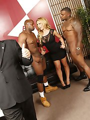 Megyn Gets Trumped Interracial Black Cock Movies at Blacks On Blondes!