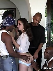 Kacey Is An Interracial Black Cock Slut at Blacks On Blondes!