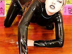 kinky rubber fetish cyber sex doll