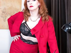 Red, leader of the Nylons Party, stands for sexy hosiery and designer heels for all women, and sexy times for all the men and compulsory mutual masturbation daily for all!
