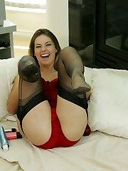 Panty and nylon fun