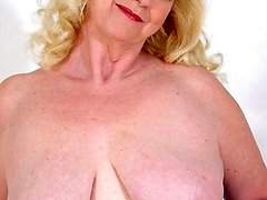 big titted elderly girls plumper posing nude