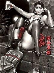 hentai femdom cock and ball training