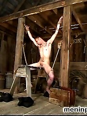Latex Goddess Lydia McLane lords her power over slave boy rick as he squirms in an escape attempt from rope bondage while under the laughing Mistresses whip.  A chilling sounds scene follows, and Lydia continues her humiliating onslaught by commanding rick to recite 'I like how my little pussy is getting fucked' while reaming out his piss slit with the thick, steel rods.  In the end, rick is suspended and fucked in the ass while Lydia strokes her gloved hands over his hard, aching cock.  Maybe she will even allow him to come?