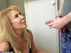 Erica Lauren Tricky Step Son Hj at Over40handjobs