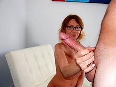 Better Cum Quick - MILF and Mature Hand-job Movies Over 40 Handjobs