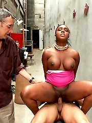 Layton Benton is an experienced Dom and decides that she would like a taste of her own medicine. Blindfolded, she is dragged to a seedy ally in SF Chinatown. Her huge tits start bouncing as her whore pussy gets pounded, her slut mouth gets fucked and her luscious booty gets flogged.