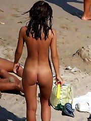 College girls naked at the beach