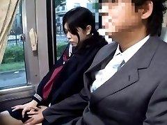 Japanese AV Model rubs her cunt in panty next PublicSexJapan.com