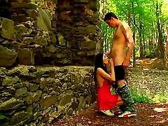 Out in the woods, these insane teens probe their wildest cravings. Here even the most hard-core acts feel so natural and satisfying. There`s nothing like fuck-fest outdoors!