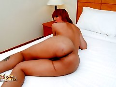 Hot ladyboy Aogast gets her ass packed