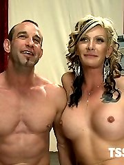 Morgan is back and hotter than ever and harder than ever in this contest update where a submissive guy auditions for