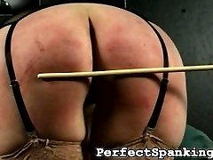 No one likes a lazy bitch roaming around their house. Even if she's as hot as the lazy bitch in this spanking video. Yet again, she is caught on the couch, in front of the TV.