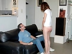 Embarrassing spanking humliation for this French Bitch