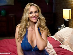 Whipped Ass Presents is proud to introduce The Debasement Of Lori Lansing, our first high production feature film. This sordid tale stars pornstar Hall of Famer Julia Ann as Lori Lansing, a devastatingly sexy sex starved step-mom and Rachel (Gia Dimarco) her spoiled co-ed art snob step daughter. Lori finds herself neglected and vulnerable when Frank, Rachel's dad, suggests Lori to visit her at the art academy. College is more then meets the eye and Rachel and her crew of perceived high brow art aesthetic followers are more busy one upping each other with their lesbian escapades then to worry about whether Matisse or Caravaggio had the better brush stroke. Lori finds herself caught in a scandalous triangle where manipulative seduction, hardcore lesbian sex, BDSM and punishment is just another notch in the belt and one more rung in the social clique ladder. This is skillfully shot in high definition with great acting and includes an intense all girl strap-on double penetration gang bang!