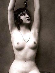 Several nude antique ladies