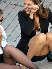 Girls pantyhose very nice upskirts