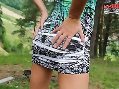 Both mounds and pussies upskirts shown