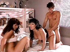 Jeanna Superb, Tiara, T.T. Boy in staggering threesome from vintage pornography
