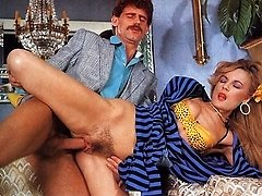 Seventies lady anal wedged