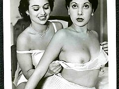 Old School vintage pics show steamy naked dolls