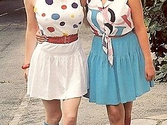 Two white seventies girls