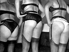 Vintage lesbians undressing