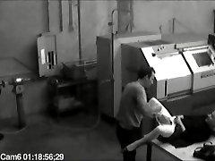 Phone operator caught on CCTV getting wild