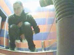 Three girls get filmed weeing in spycammed toilet