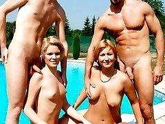 Naked amateur celebrations