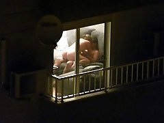 My Balcony View - Window peeping moments