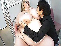 ICD-276 Mandy Majestic mega boobs bbw facesitting