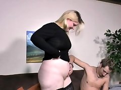 SextapeGermany - Amateur BBW German pounded in a hot porn video