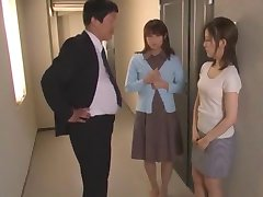 Hottest Japanese chick Kanon Imai in Incredible Threesomes JAV video