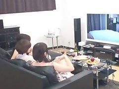 incredibil japoneză curvă risa arisawa, bl mizuki, mika mizuno în călduri sani mici, cururi jav clip