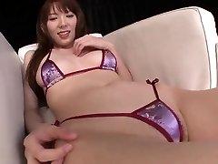 Japansk tonåring Hej Mikity sexiga fitta spela