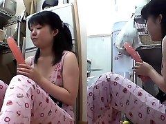 Asian teen setter inn dildo