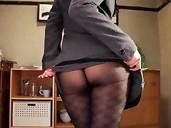 Shou nishino seep suurepärane naine sukkpüksid perse piits re nume