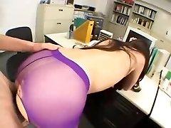 Japansk Tonåring Flicka Strumpbyxor Sex