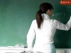 Chaude japonaise enseignant