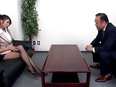 Secretary Seduces Her Boss