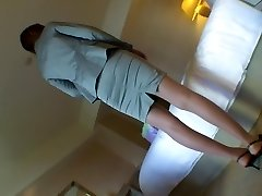Crazy Japansk jente Kei Akanashi, Risa Goto, Yu Minase, Rina Fujimoto i Fantastisk par, undertøy JAV video