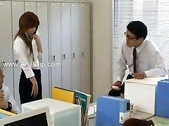 tokyo sekretær fra Tokyo med ræva melk