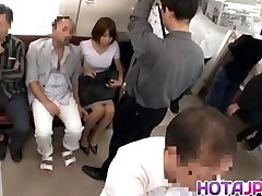 Scorching MILF Gets Her Pantyhose Pulled Down To Bang On A Teach